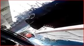 Dos barcos chocaron en el ingreso al puerto de Mar del Plata